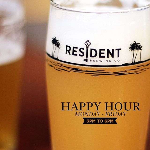 It's Wednesday and it's hot out there! Sounds like a craft beer is in order for today. Even better, swing by the tasting room for Happy Hour between 3-6pm, and take advantage of $1 Off Pints! #sandiego #sandiegoconnection #sdlocals #sandiegolocals - posted by Resident Brewing Company https://www.instagram.com/residentbrewing. See more San Diego Beer at http://sdconnection.com