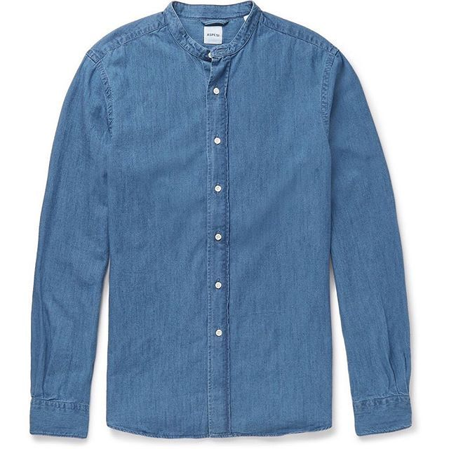 Attire staff picks: Denim shirts. Our favorite pieces by Aspesi, AMI Paris and Acne Studios. Available soon on Attire. #streetwear #streetstyle #menswear #fw15 #acnestudios #amiparis #aspesi #denim #shirt #vintage