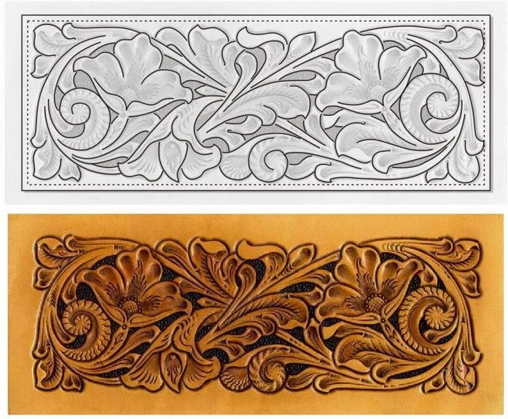 Best leather tooling patterns ideas only on pinterest