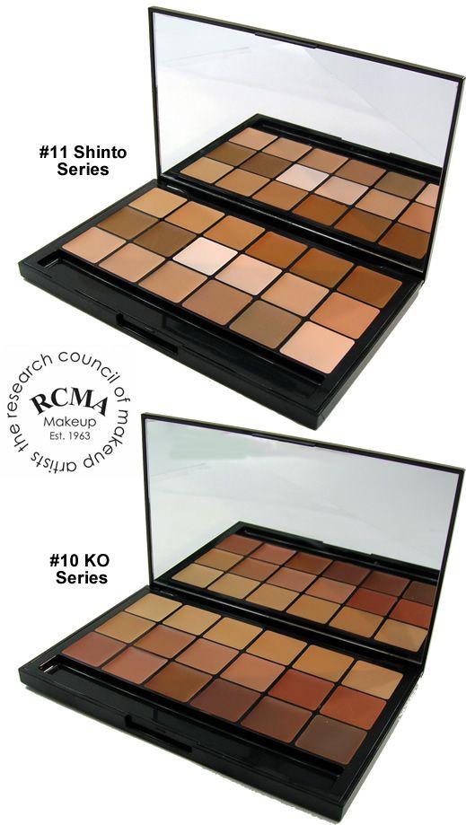 "RCMA ""VK"" 18 Color Foundation Palette - Sampler, RCMA Beauty The Paint and Powder Store"