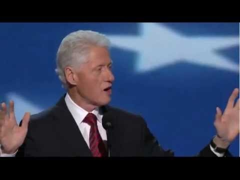 Bill Clinton's Speech • 2012 Democratic National Convention (complete speech) #BillClinton #DNC
