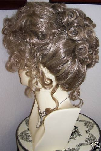 38 Best Images About Victorian Hair And Wigs On Pinterest