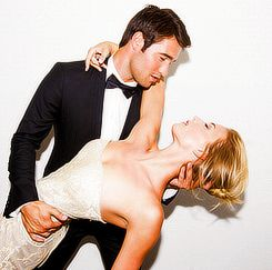 Josh Bowman and Emily VanCamp, real life couple! @Meghan Douglas I did not know this!!!