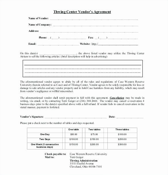 Simple Vendor Agreement Template New Simple Vendor Agreement Template Payroll Confidenti Contract Template Rental Agreement Templates Reference Letter Template
