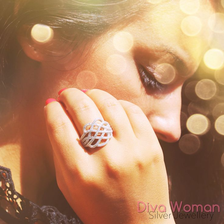 Diva Woman Silver Jewellery // Portuguese brand - available online in www.art-argentum.com