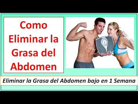 Agua que ejercicio hacer para bajar la grasa del abdomen que