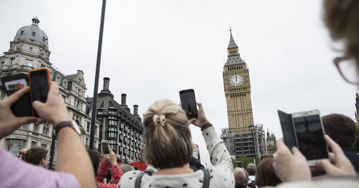 #MONSTASQUADD After Big Ben Rings Out, the Sound of Silence in London