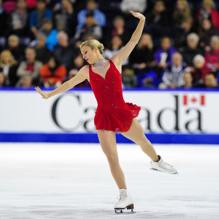 Ashley Wagner of US wins silver at 2014 Skate Canada International