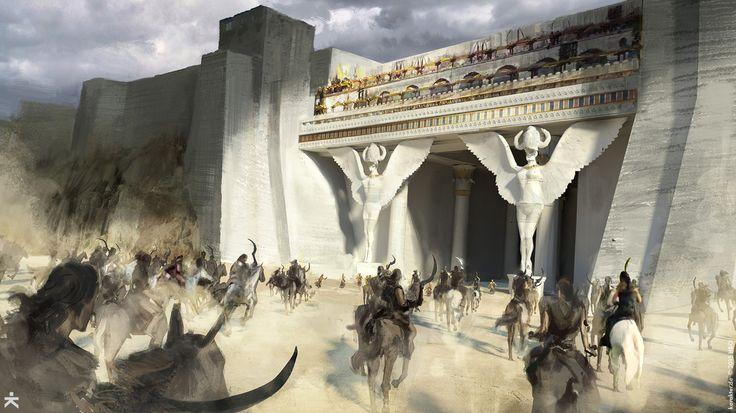 Game of Thrones (GOT) example #197: The Concept Art BehindGame Of Thrones: Season 6