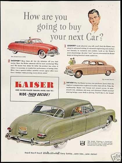 Kaiser Convertible Special & Virginian Car (1949)