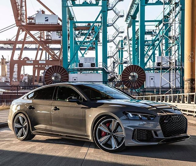 2020 Audi Rs5 Sportback In Nardogrey And Black Optics