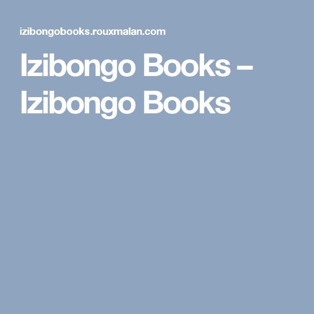 Izibongo Books – Izibongo Books