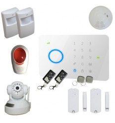Alarme Maison sans fil GSM 2/3 pièces 100% sécurité