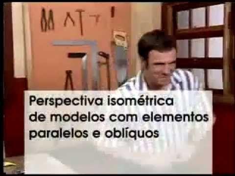 04 - Perspectiva Isométrica (parte 02) - Desenho Técnico (Profissionaliz...