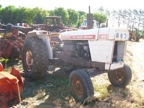 Case 1210 Tractor Parts : David brown tractor parts salvage ag