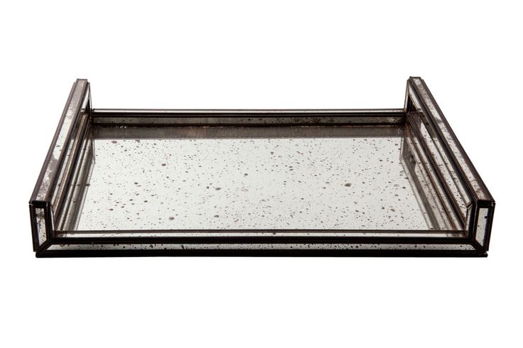 Mirrored serving tray from Becara