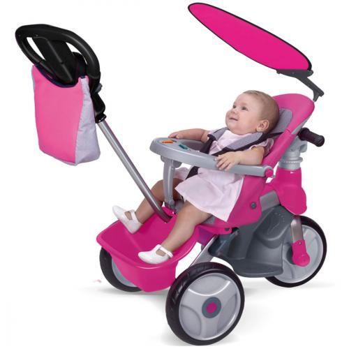 TRICICLO FEBER COMPLETO INFANTIL DE NIÑA, IndalChess.com Tienda de juguetes online y juegos de jardin