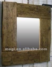 Resultado de imagem para molduras rusticas para espelhos