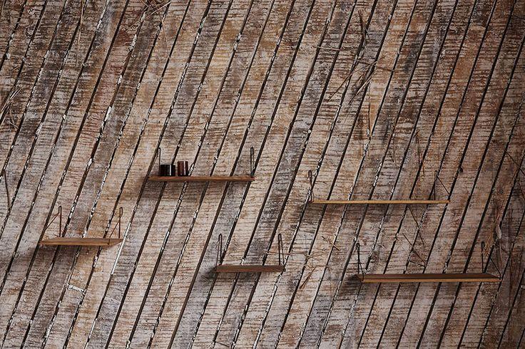 Shelf by Frama at the Org. Freemasons Lodge   shot by Michael Falgren