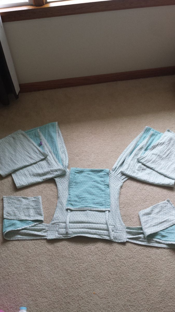 Woven wrap conversion Mei Tai tutorial! DIY Babywearing!