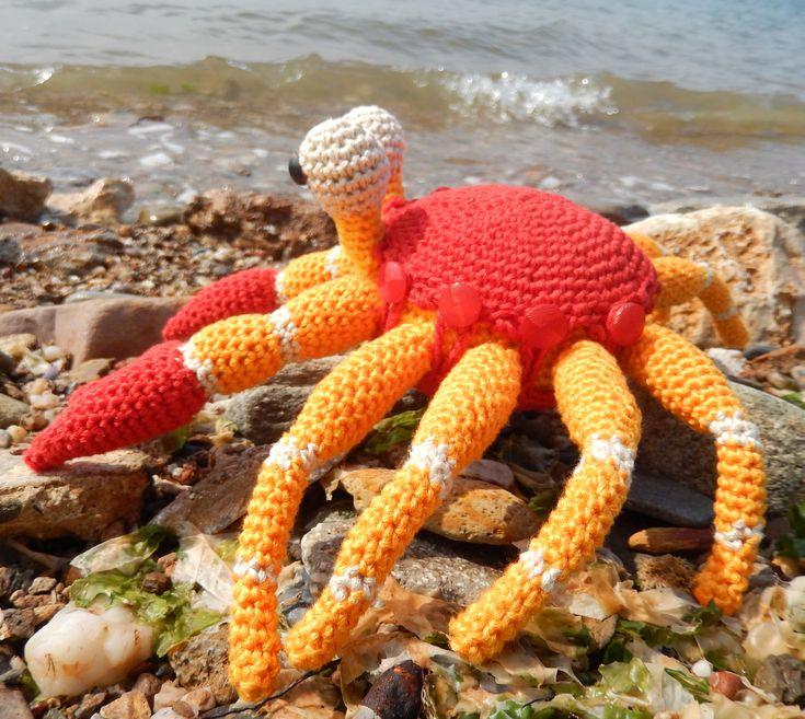 Ich freue mich ganz besonders über diese Geschichte, die Marianne Efinger, eine Kinderbuchautorin, für meinen Blog und alle Amigurumi-Fans geschrieben hat. Die Geschichte handelt von einer Krabbe, …