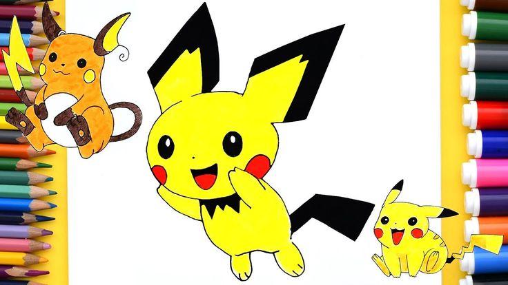 Les 25 meilleures idées de la catégorie Pichu pikachu ... Pichu Pikachu Raichu Rap