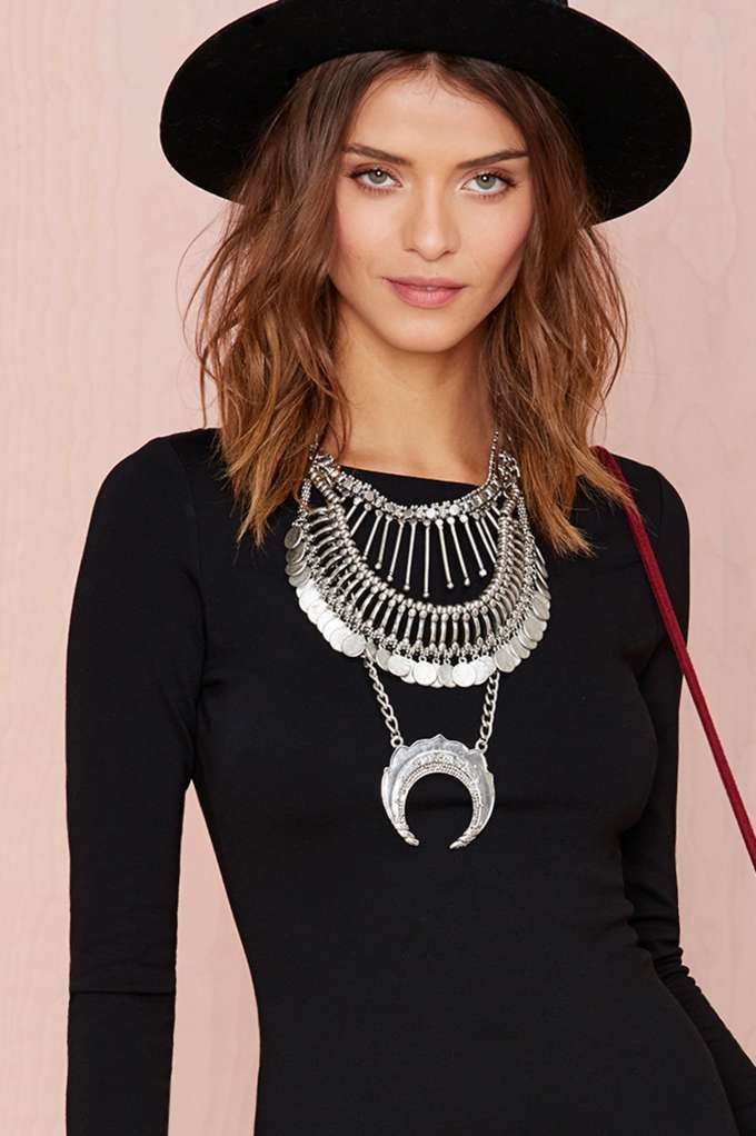 Coined It Necklace - doesn't that look so Indian? Straight out of amrapali?