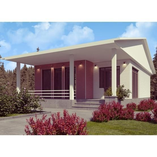PREFAB HOMES KIT HOME 2BR 1BA 980SF LANDHAUS MODERN KIT HOUSES