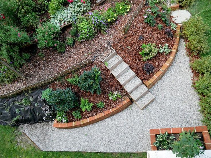 89 besten Gartengestaltung Bilder auf Pinterest Landschaftsbau - bilder gartengestaltung hanglage