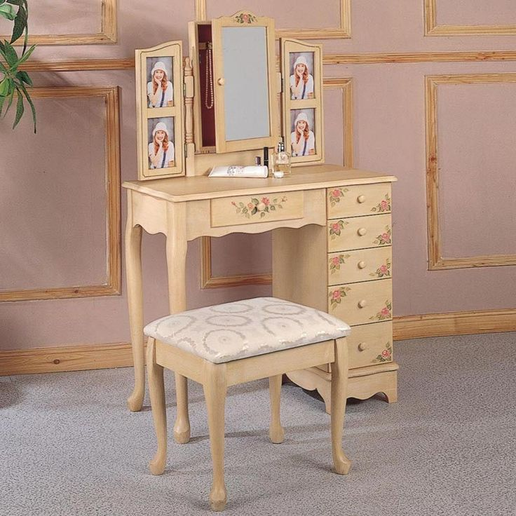 Best Vanity MakeUp Table Dressing Table Images On Pinterest - Large makeup vanity with drawers