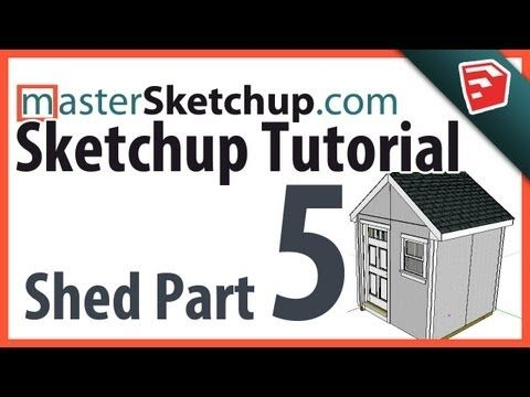 Sketchup Tutorial - Model a Shed (Part 5) - Final Details - videos by Matt Donley* |  • Channel | (https://www.youtube.com/channel/UCFBi30B8oBGrl48RdxgIiRA)  ★ || CHARACTER DESIGN REFERENCES (https://www.facebook.com/CharacterDesignReferences & https://www.pinterest.com/characterdesigh) • Love Character Design? Join the Character Design Challenge (link→ https://www.facebook.com/groups/CharacterDesignChallenge) Promote your art in a community of over 25.000 artists! || ★