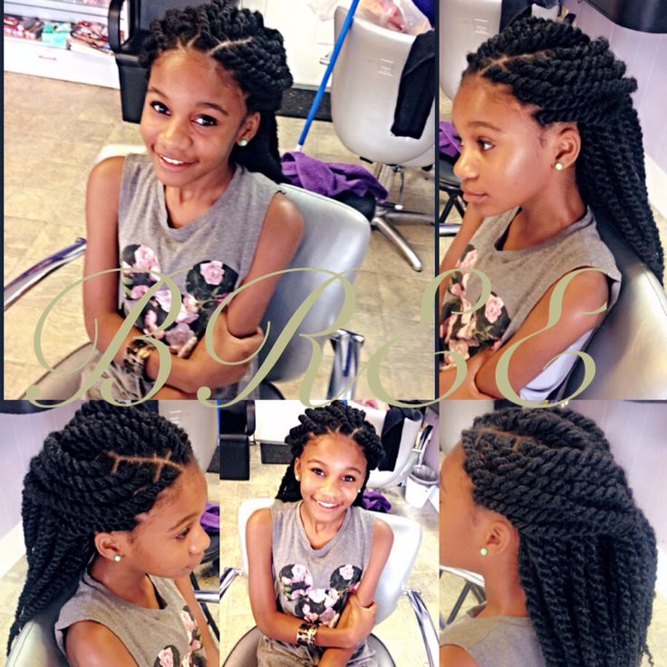 128 best Teens and Tweens: Braids and Natural Styles
