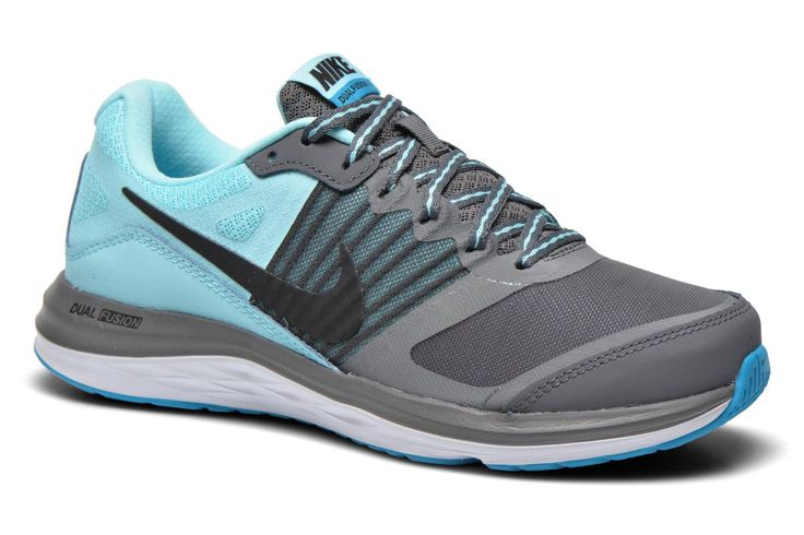 ¡Cómpralo ya!. Wmns Nike Dual Fusion X by Nike. ¡Envío GRATIS en 48hr! Zapatillas de deporte Nike (Mujer), disponible en , deportivas, sport, deporte, deportivo, fitness, deportivos, deportiva, deporte, trainers, sporty, plimsoll, sportschuhe, tenis, chaussuressportives, sportive, deportivas. Deportivas  de mujer color gris de Nike.