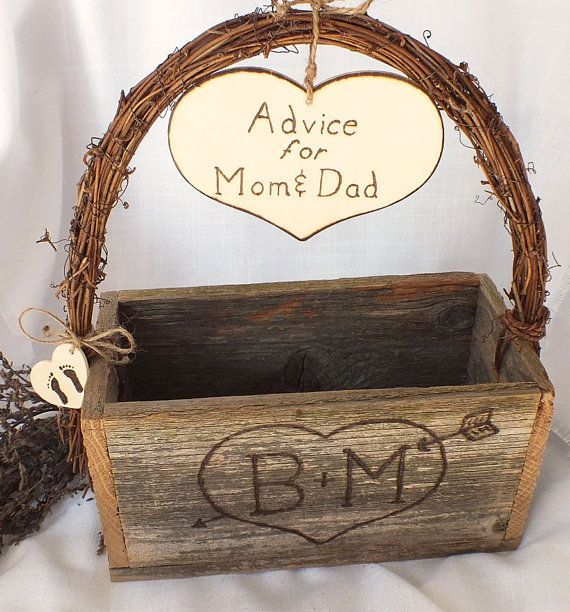 Advice For Mom And Dad - Baby Shower Decorations - Gender Reveal Party Decor on Etsy, $89.99