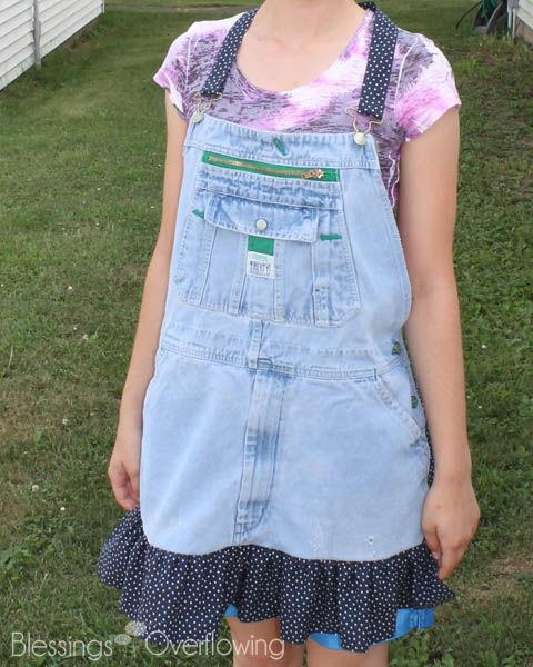 How To Make An Apron From Bib Overalls Sewing Patterns