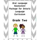 Assessment package for Grade Two oral language expectations based on the Ontario Language Curriculum. Track the progress of your students' oral la...