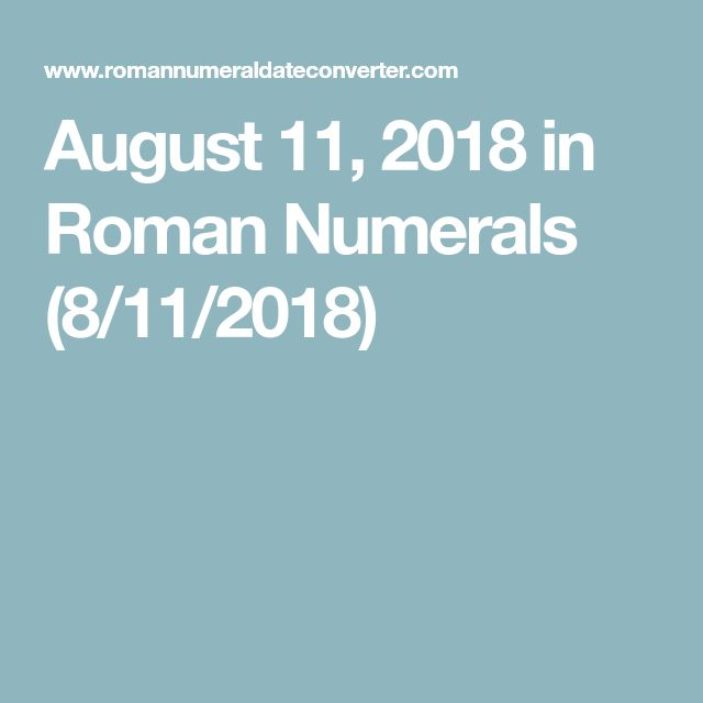 The  Best Roman Numerals Translation Ideas On
