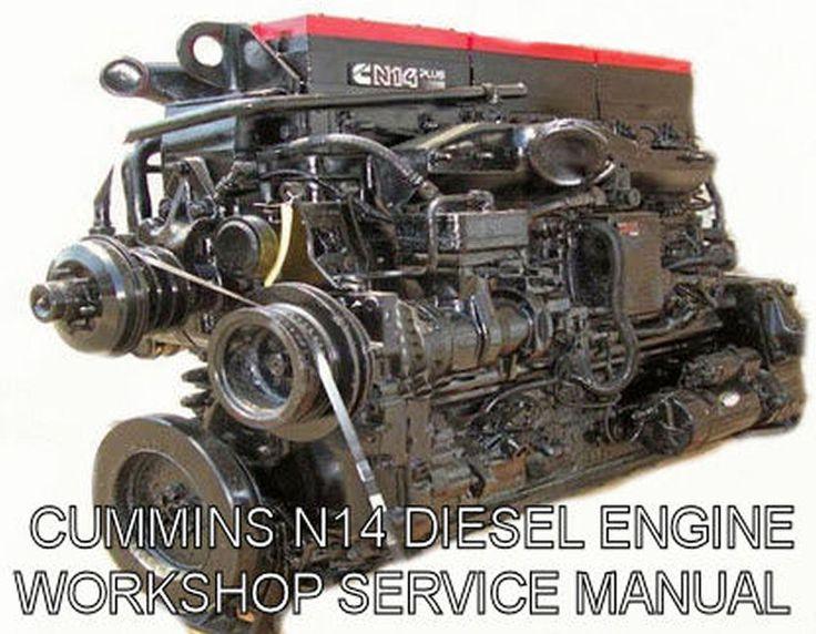 17 best images about toms pins repair shop detroit details about cummins n14 1991 celect and celect plus service manual engine workshop motor cd