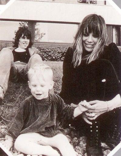 Anita Pallenberg, Keith Richards, Marlon Richards | Anita ... Keith Richards Family