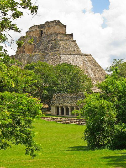 Uxmal, Yucatan, Mexico - rebuilding my lost Mexico trip via Pinterest...I climbed this!