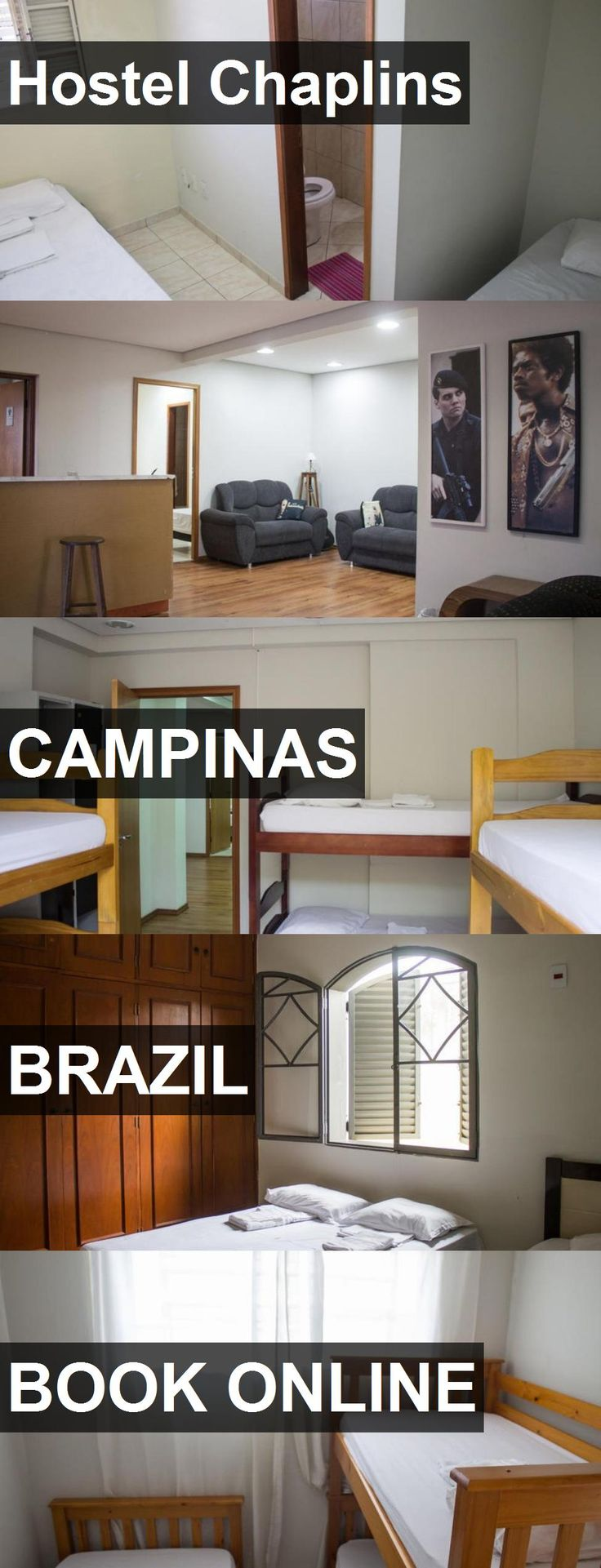 Hotel Hostel Chaplins in Campinas, Brazil. For more information, photos, reviews and best prices please follow the link. #Brazil #Campinas #hotel #travel #vacation