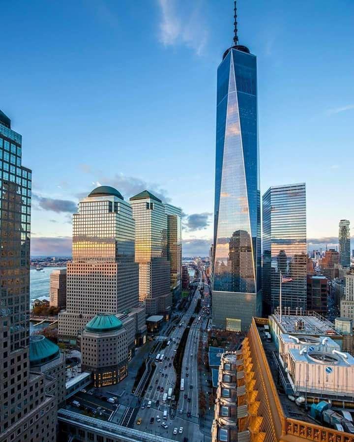 One World Trade Center, New York Get more inspirations at: www.nydesignagenda.com