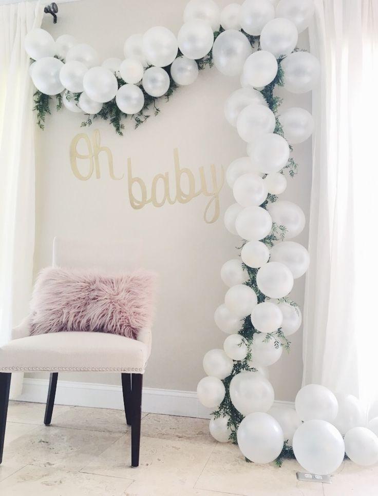 Baby Shower Balloon Decorations Pinterest