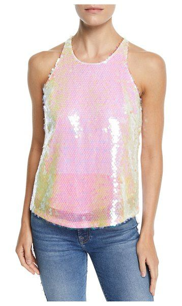 1f757611205474 Milly Marie Paillettes Tank Top in 2019