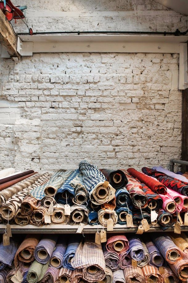 The Cloth House | Textile Shop London