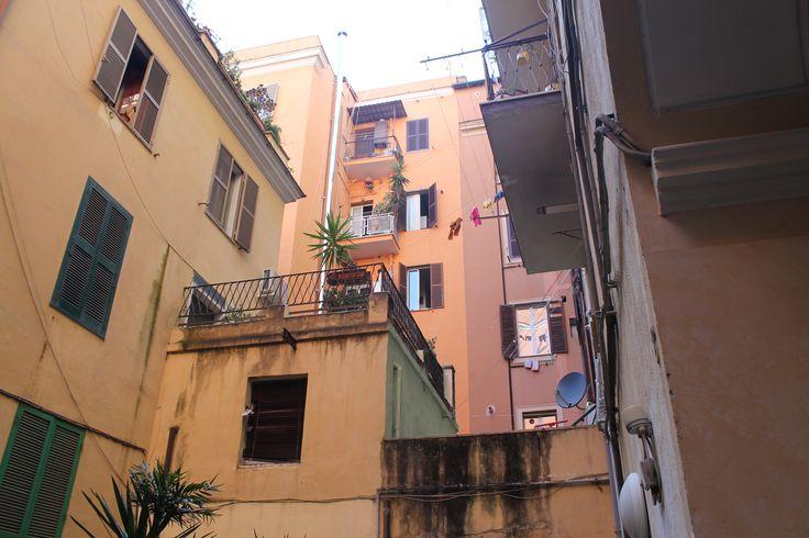 Italia, Roma, cortile italiano