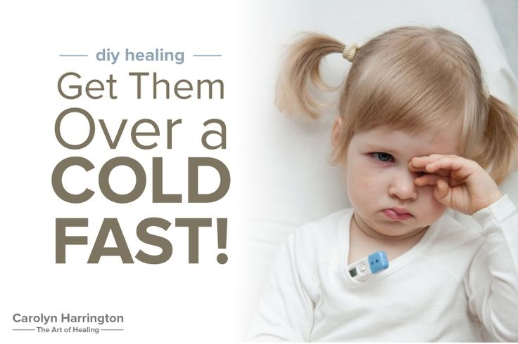 Is your child coughing and sneezing? Want to learn how to get over a cold fast? Try these 6 natural, sure-fire ways to get them feeling better in no time.