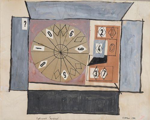 Eduardo Paolozzi  Shooting Gallery 1947