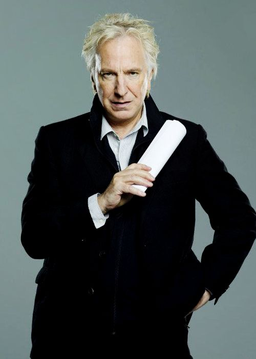 Alan Rickman, promo for Seminar, the Broadway play.