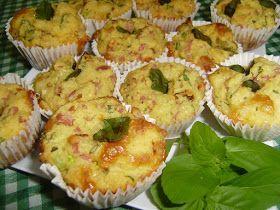 Muffin salgado com farinha de milho